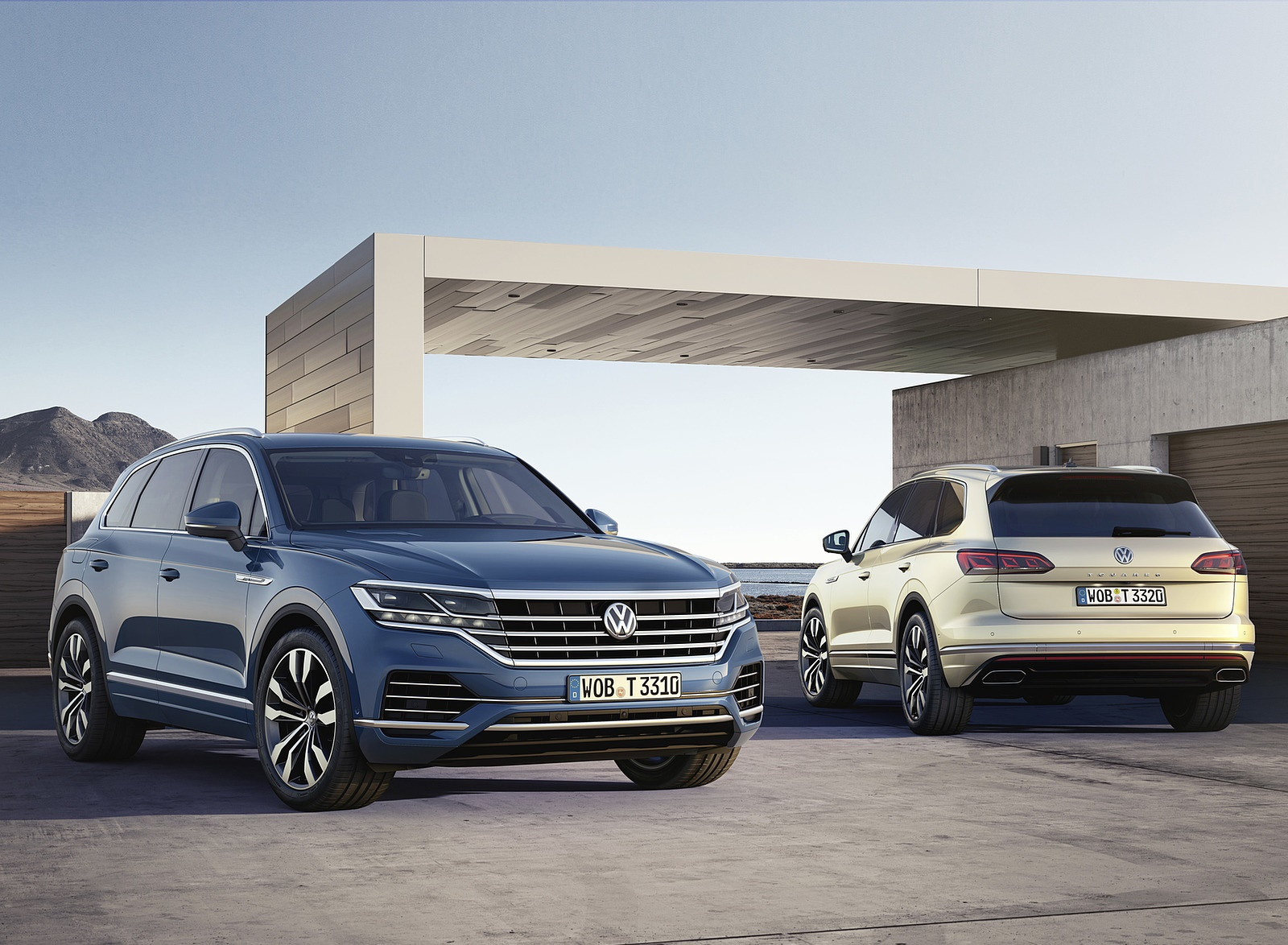 2019 Volkswagen Touareg Exterior Detail Wallpapers (9)