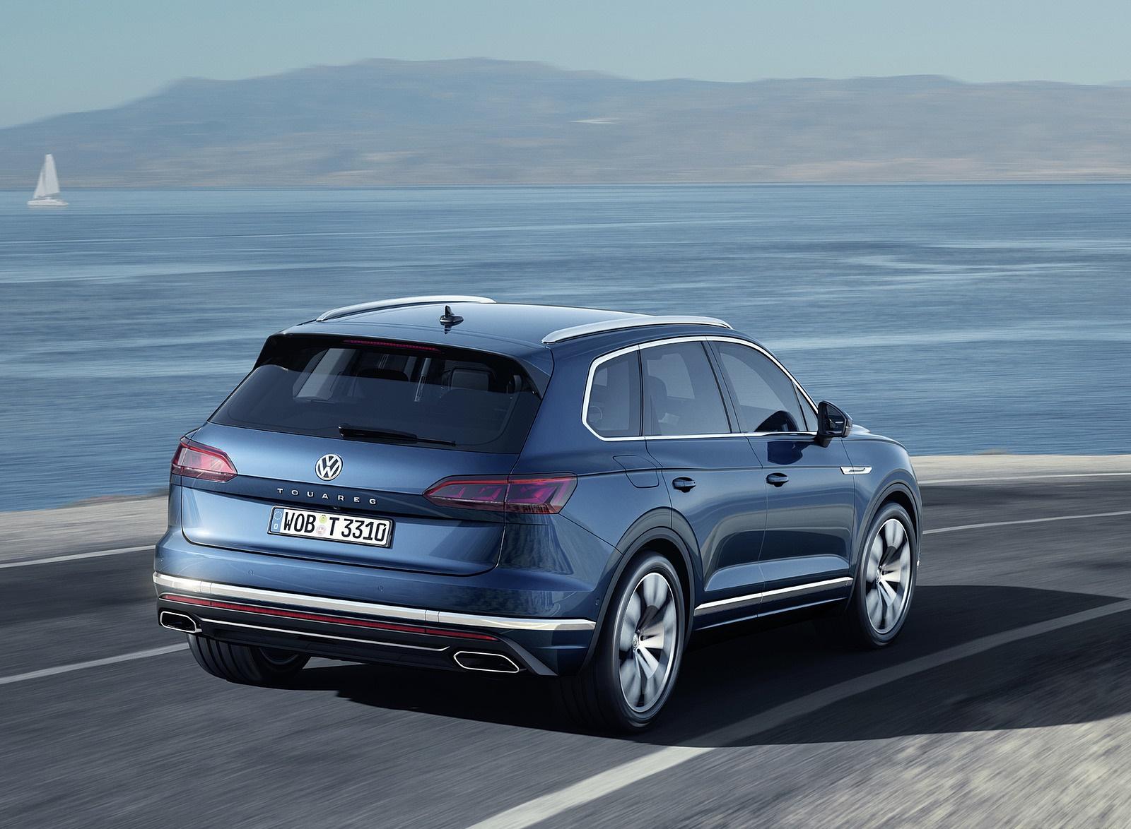 2019 Volkswagen Touareg Rear Wallpapers (14)