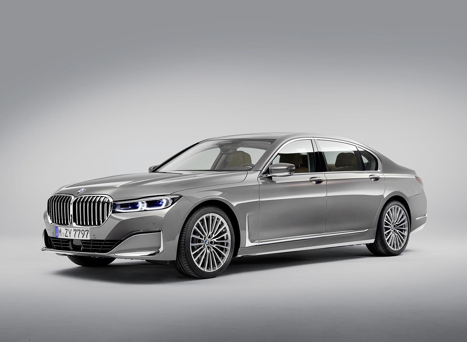 2020 BMW 7-Series 750Li Front Three-Quarter Wallpaper (14)