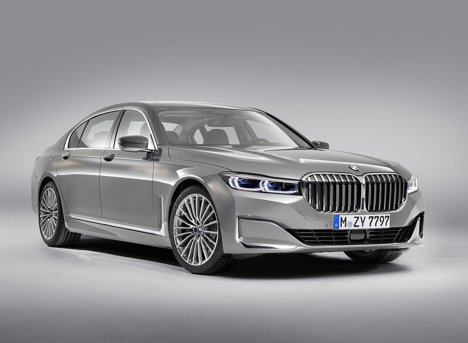 2020 BMW 7-Series 750Li Front Three-Quarter Wallpaper (15)