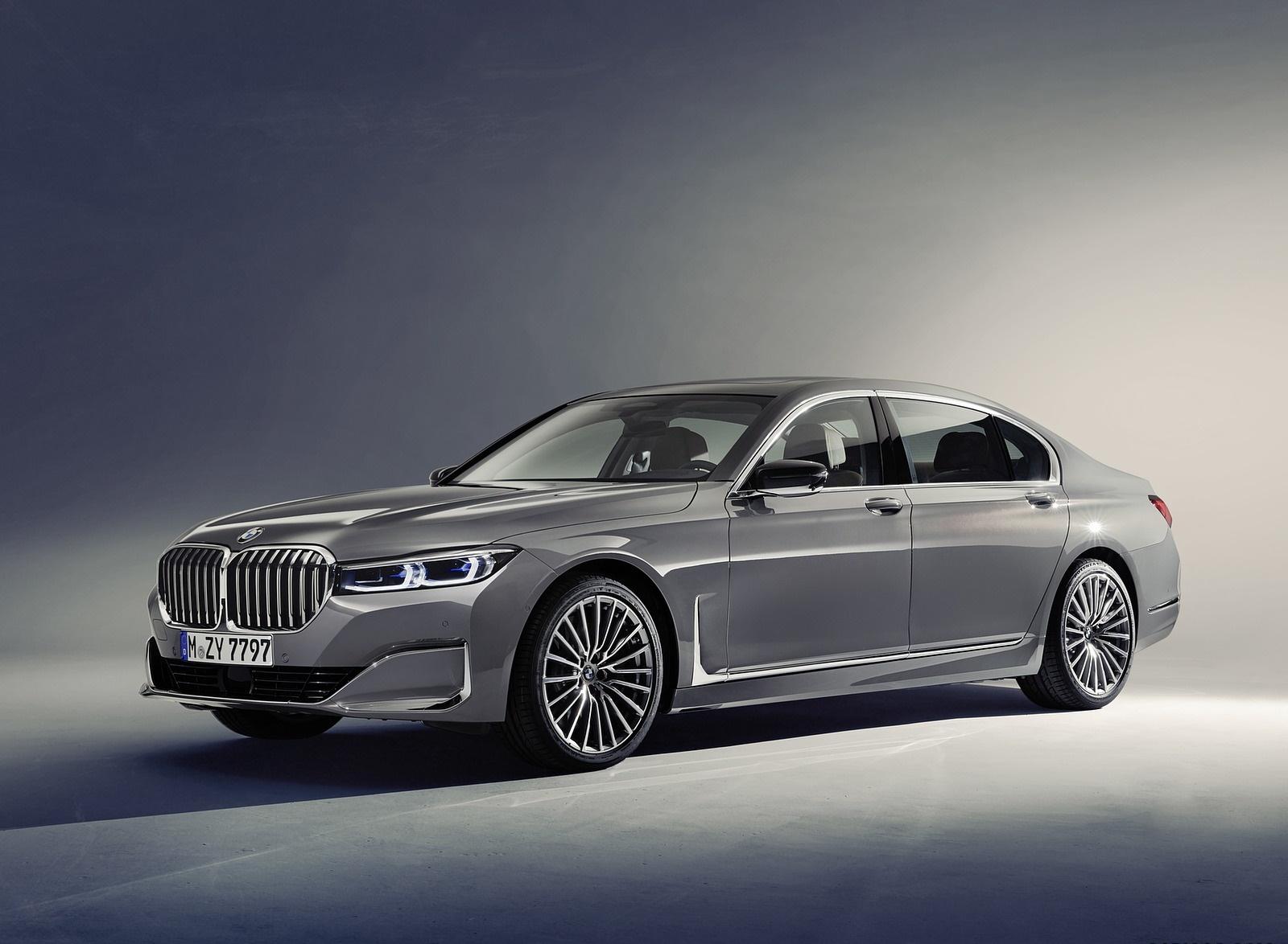 2020 BMW 7-Series 750Li Front Three-Quarter Wallpaper (8)
