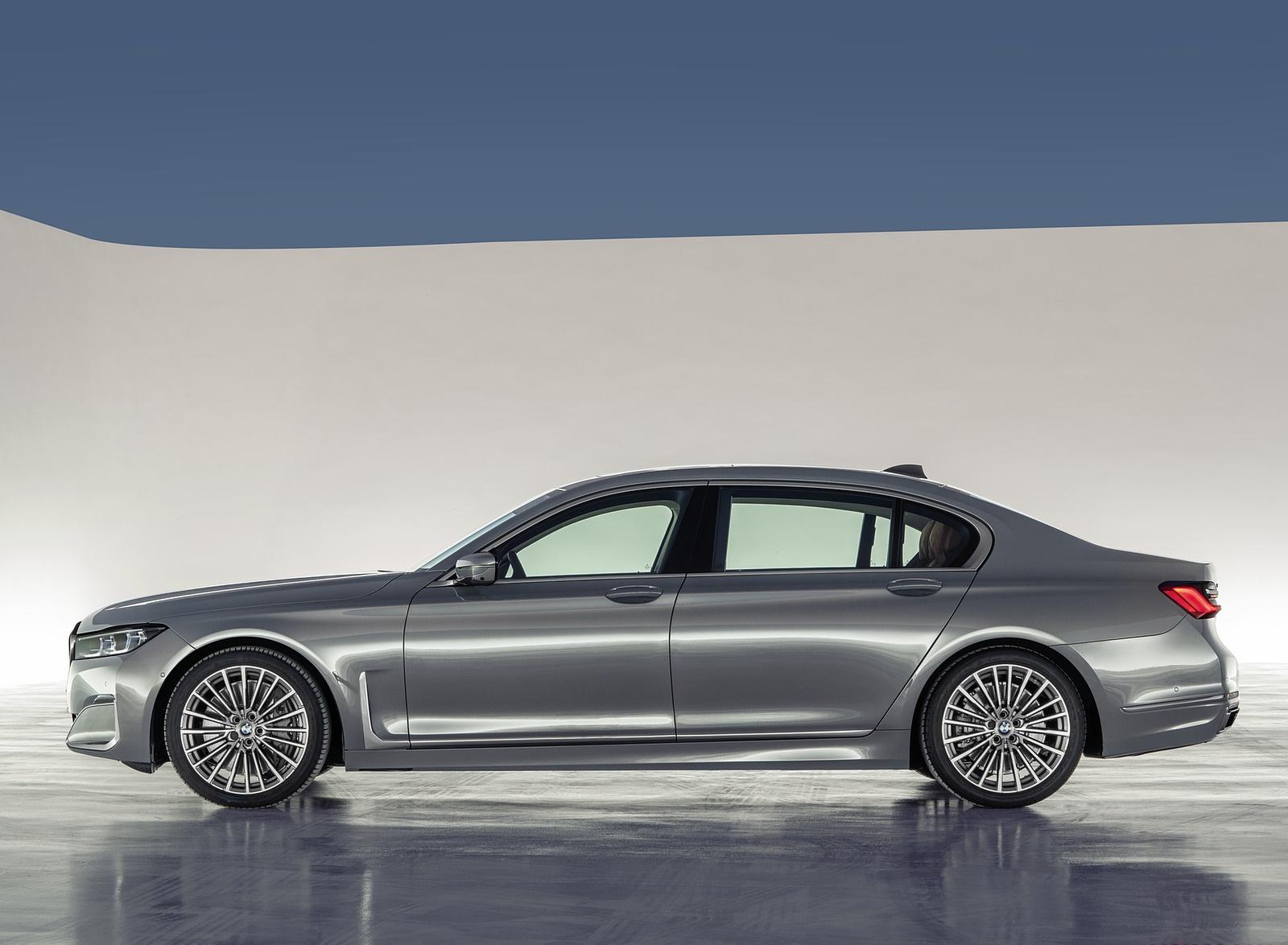 2020 BMW 7-Series 750Li Side Wallpaper (12)