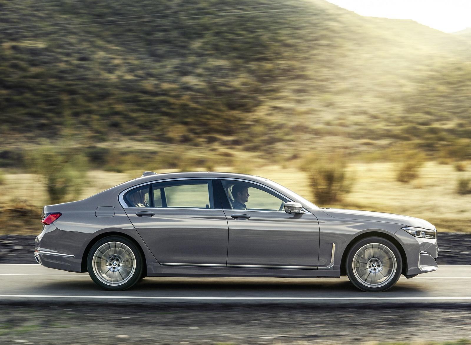 2020 BMW 7-Series 750Li Side Wallpaper (6)