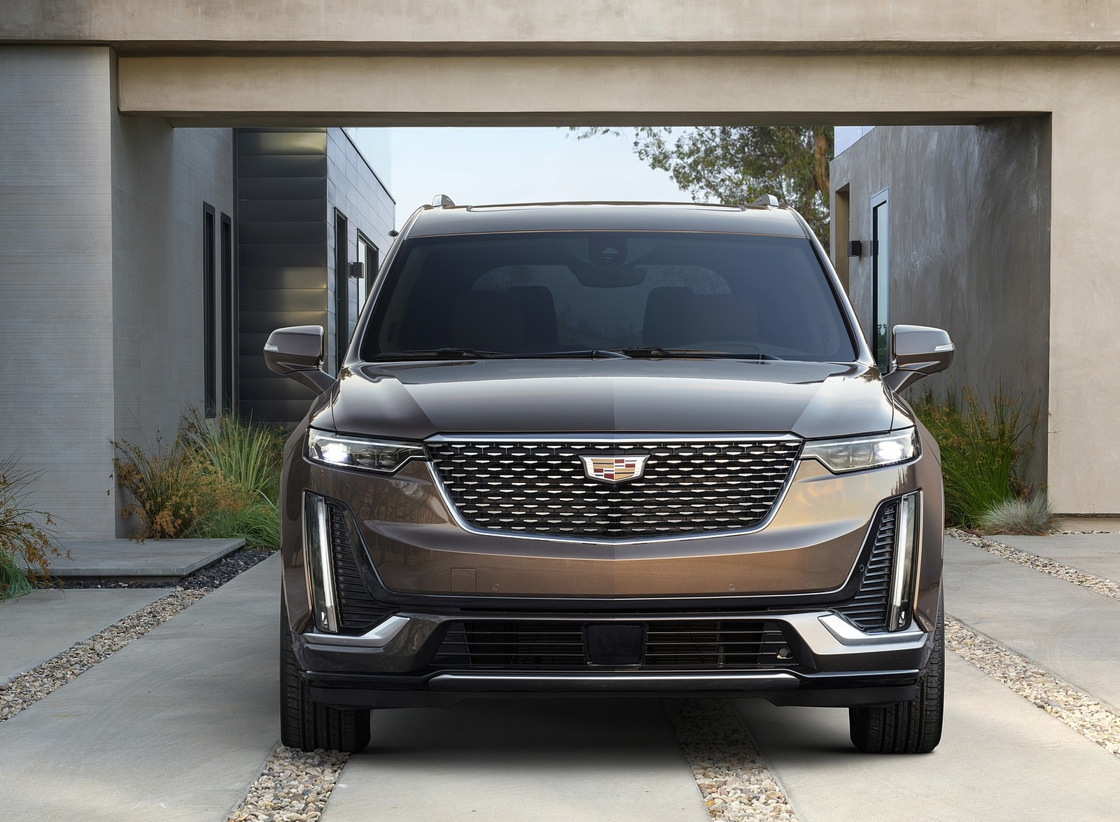 2020 Cadillac XT6 Premium Luxury Front Wallpapers (2)