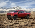 2020 Chevrolet Silverado 2500 HD Custom Front Three-Quarter Wallpaper 150x120 (8)