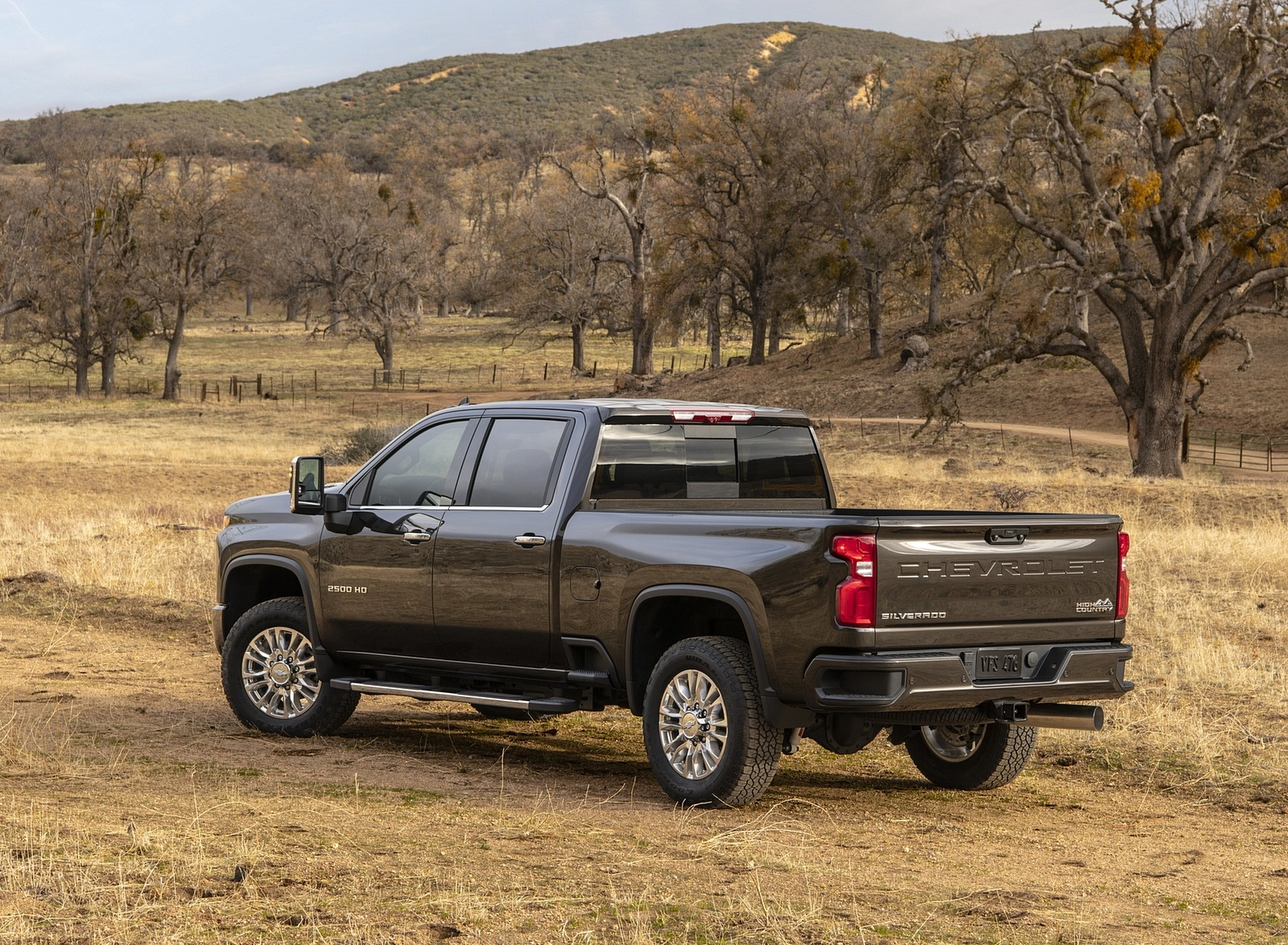 2020 Chevrolet Silverado 2500 HD High Country Rear Three-Quarter Wallpaper (6)