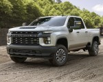 2020 Chevrolet Silverado 2500 HD Work Truck Front Three-Quarter Wallpaper 150x120 (14)