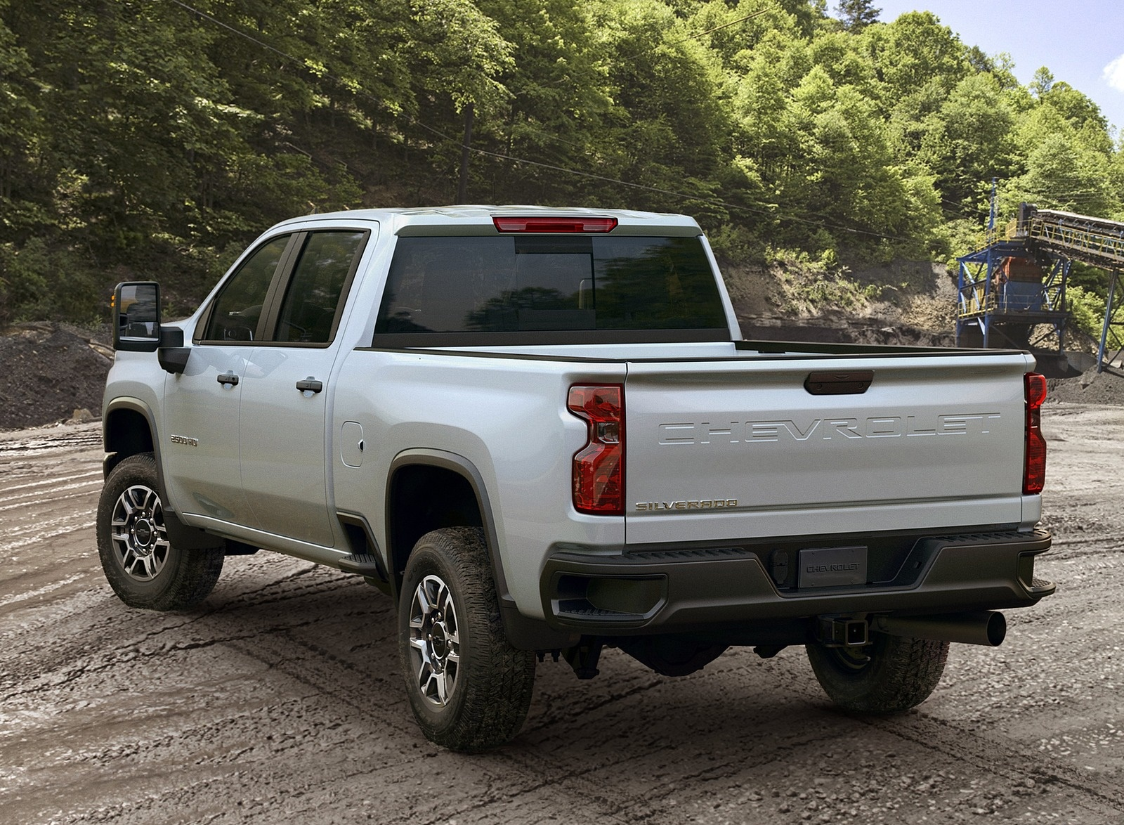 2020 Chevrolet Silverado 2500 HD Work Truck Rear Three-Quarter Wallpaper (15)