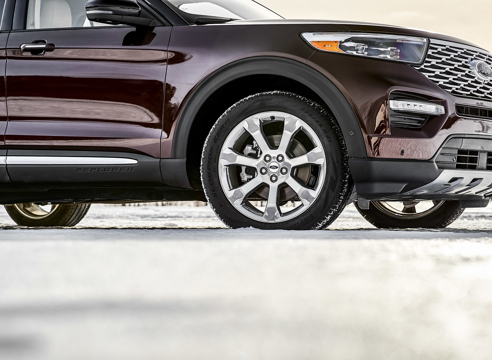 2020 Ford Explorer Detail Wallpapers (10)