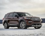 2020 Ford Explorer Front Three-Quarter Wallpapers 150x120 (7)