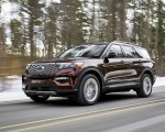 2020 Ford Explorer Front Three-Quarter Wallpapers 150x120 (6)