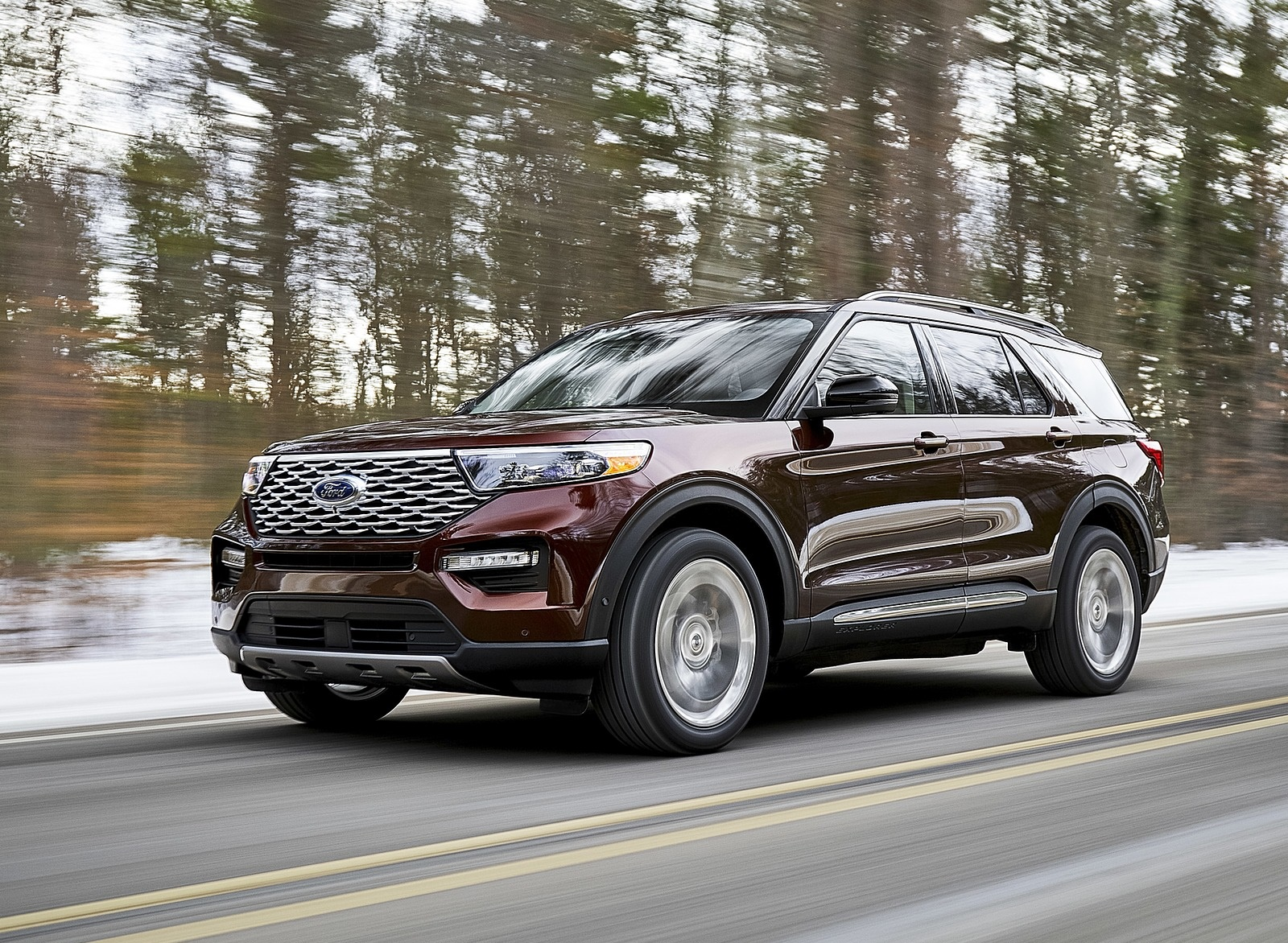 2020 Ford Explorer Front Three-Quarter Wallpapers (6)