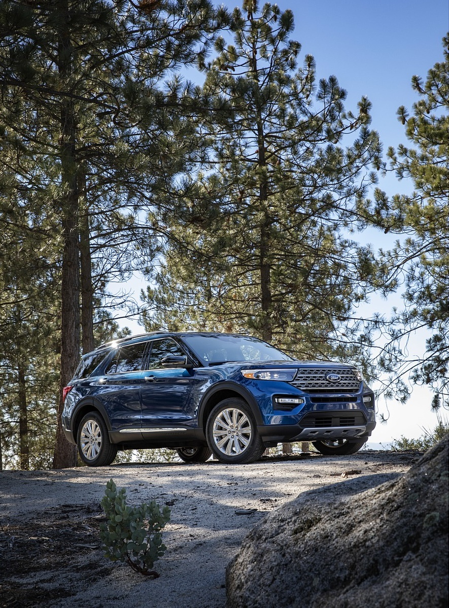 2020 Ford Explorer Front Three-Quarter Wallpapers (4)