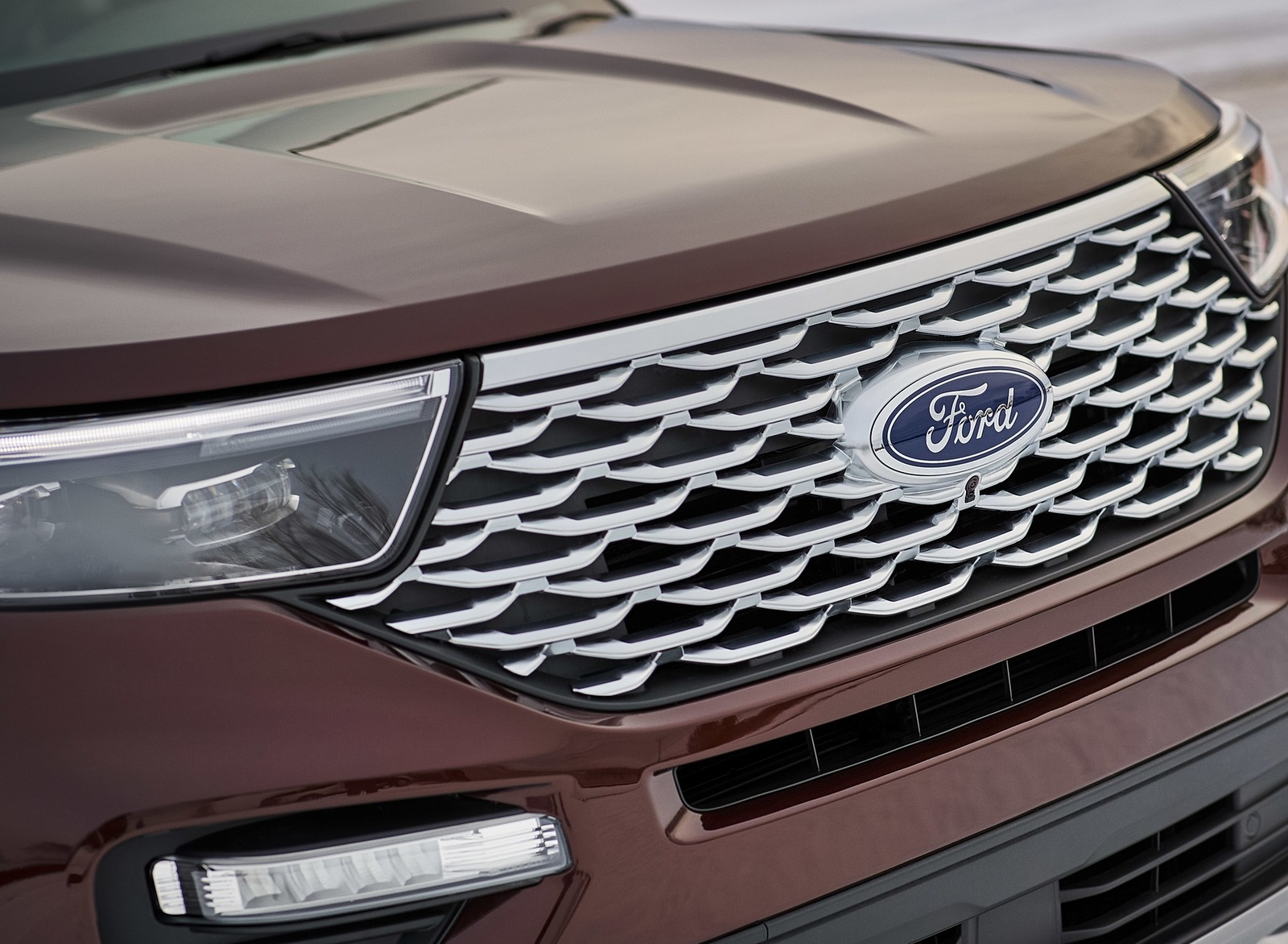 2020 Ford Explorer Grill Wallpapers (11)