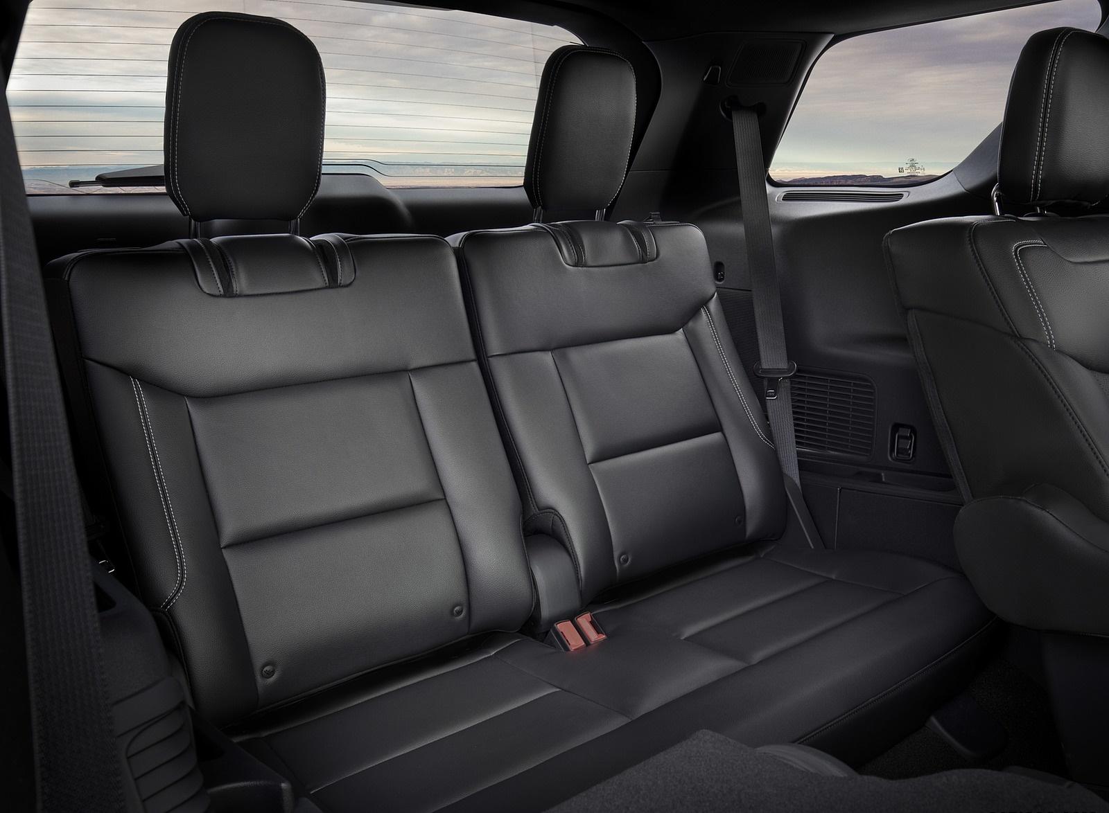 2020 Ford Explorer Interior Third Row Seats Wallpaper (15)