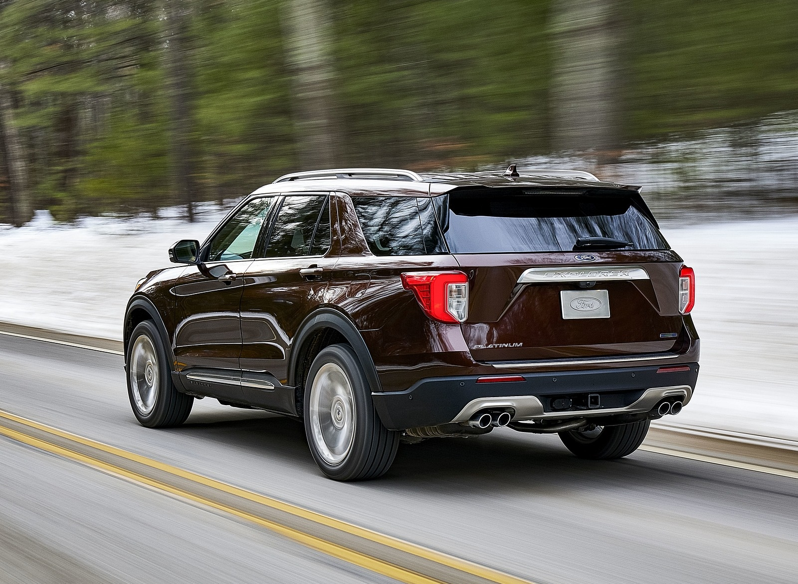 2020 Ford Explorer Rear Three-Quarter Wallpapers (8)