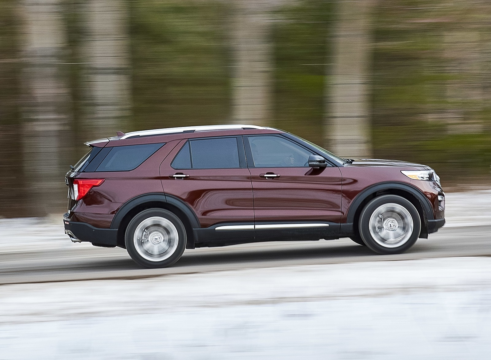 2020 Ford Explorer Side Wallpapers (9)
