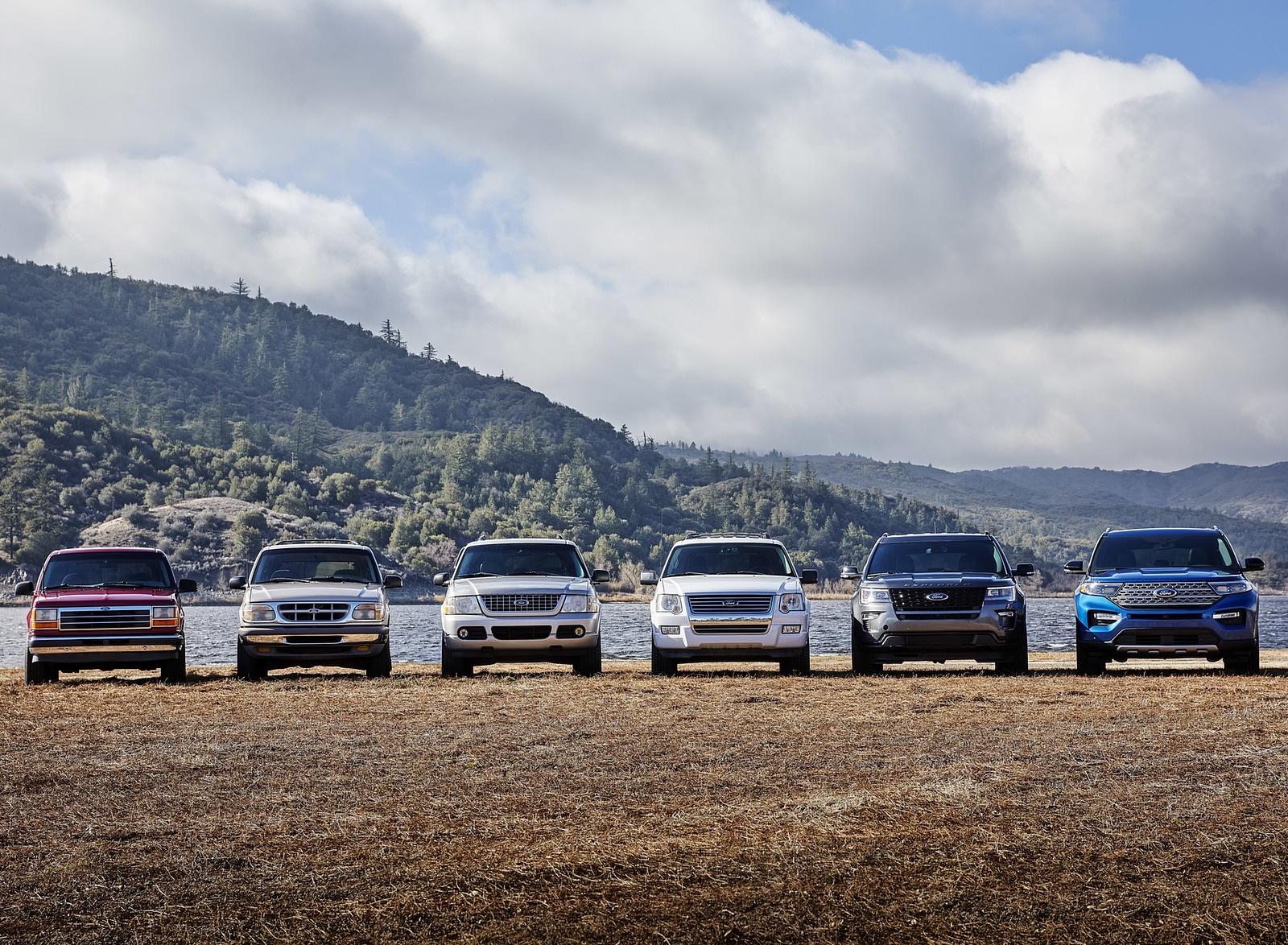 2020 Ford Explorer Six Generations Wallpaper (13)