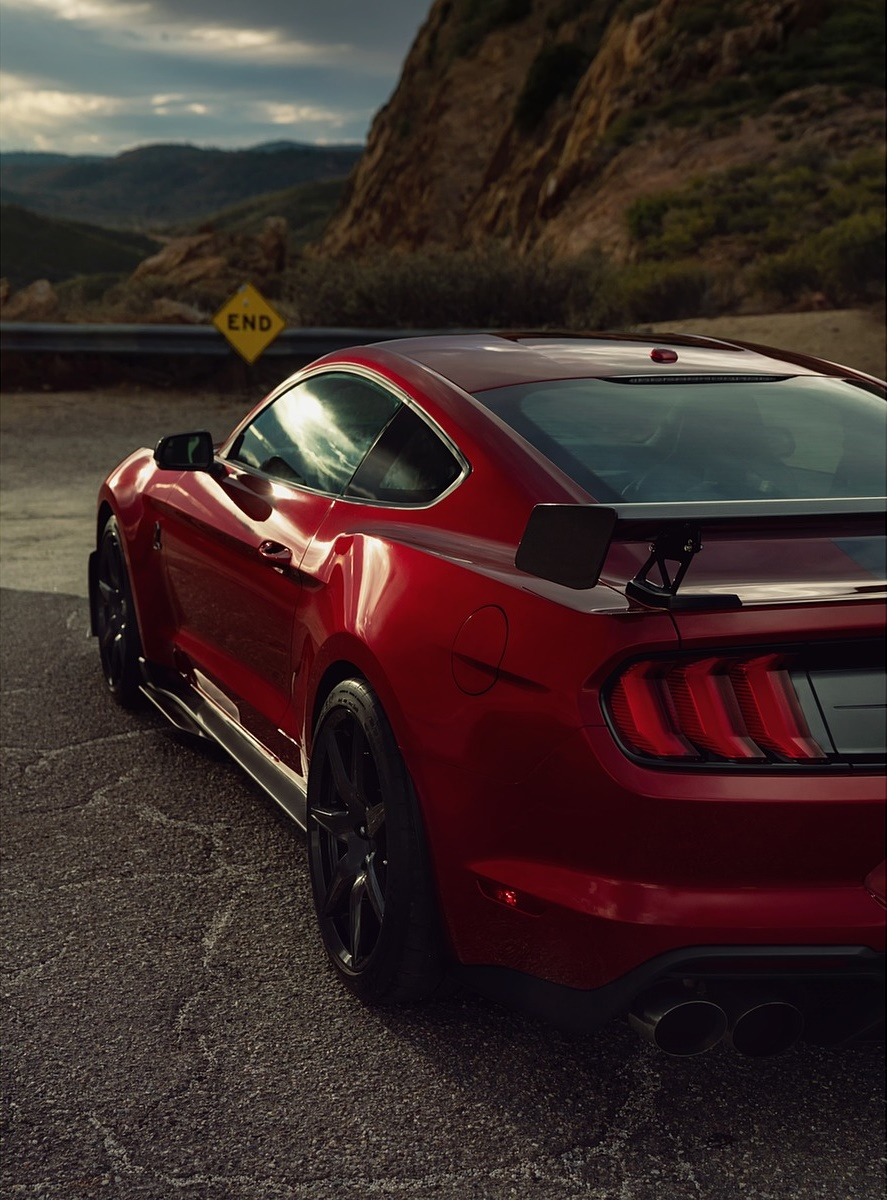 2020 Ford Mustang Shelby GT500 Detail Wallpapers (34) - NewCarCars