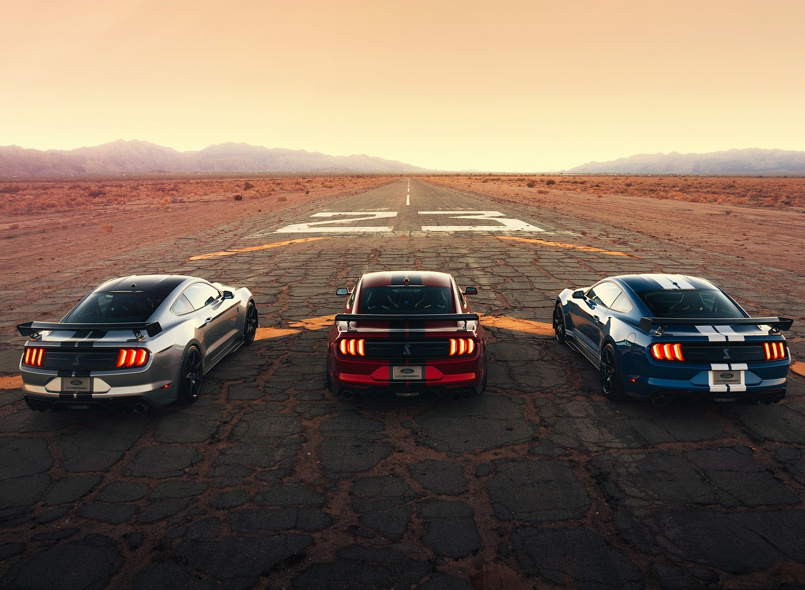 2020 Ford Mustang Shelby GT500 Rear Wallpapers (9)