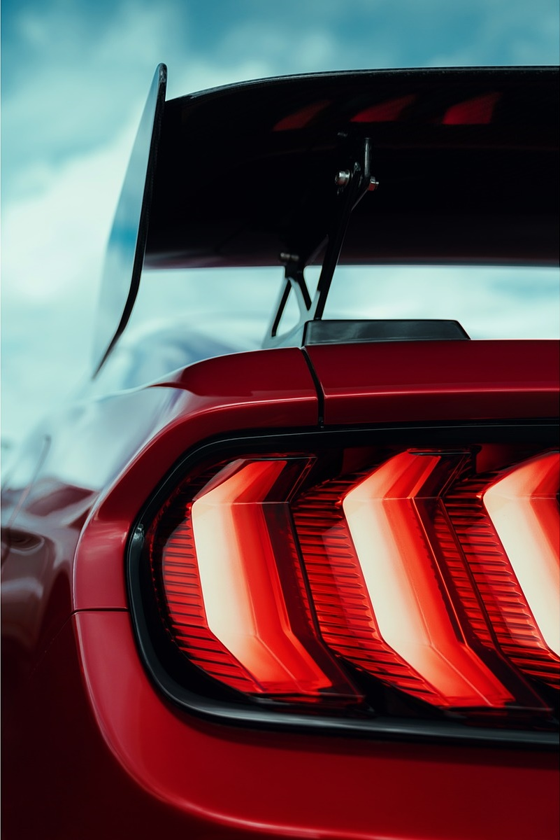 2020 ford mustang shelby gt500 tail light wallpaper 78 hd wallpapers