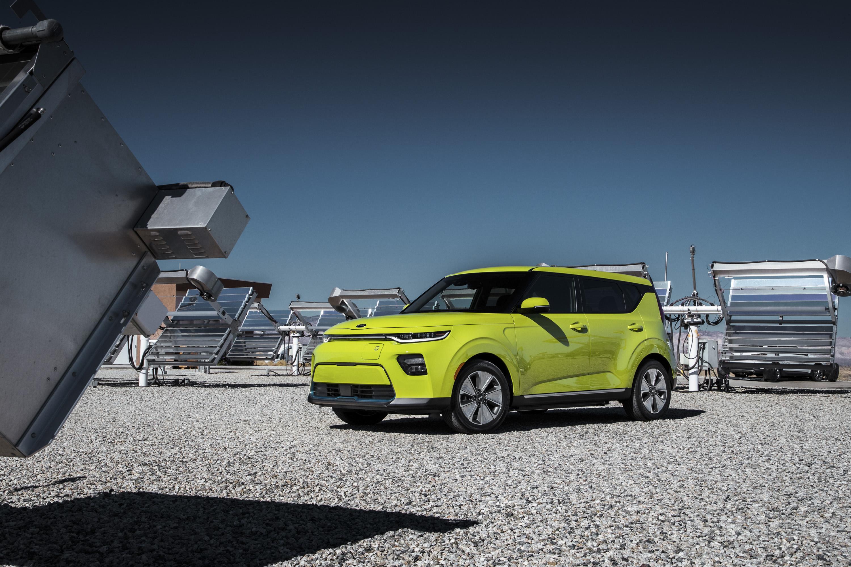 2020 Kia Soul EV Front Three-Quarter Wallpapers (10)