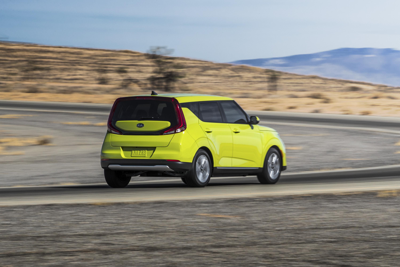 2020 Kia Soul EV Rear Three-Quarter Wallpapers (9)