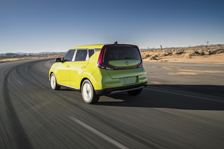 2020 Kia Soul EV Rear Three-Quarter Wallpapers (3)