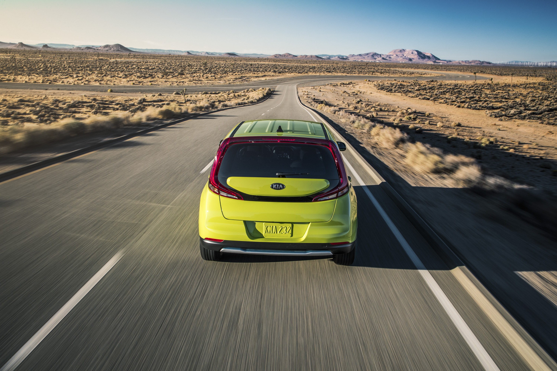 2020 Kia Soul EV Rear Wallpapers (7)