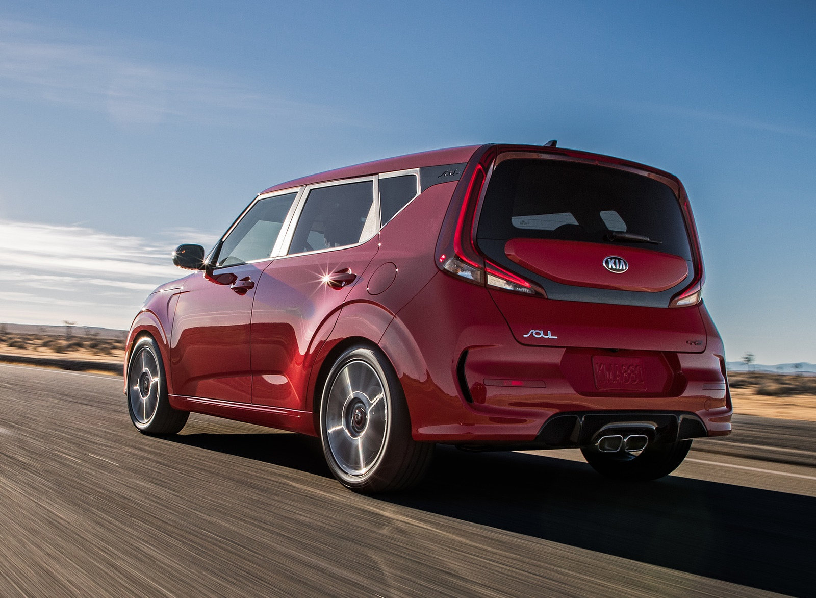 2020 Kia Soul GT-Line Rear Three-Quarter Wallpapers (6)