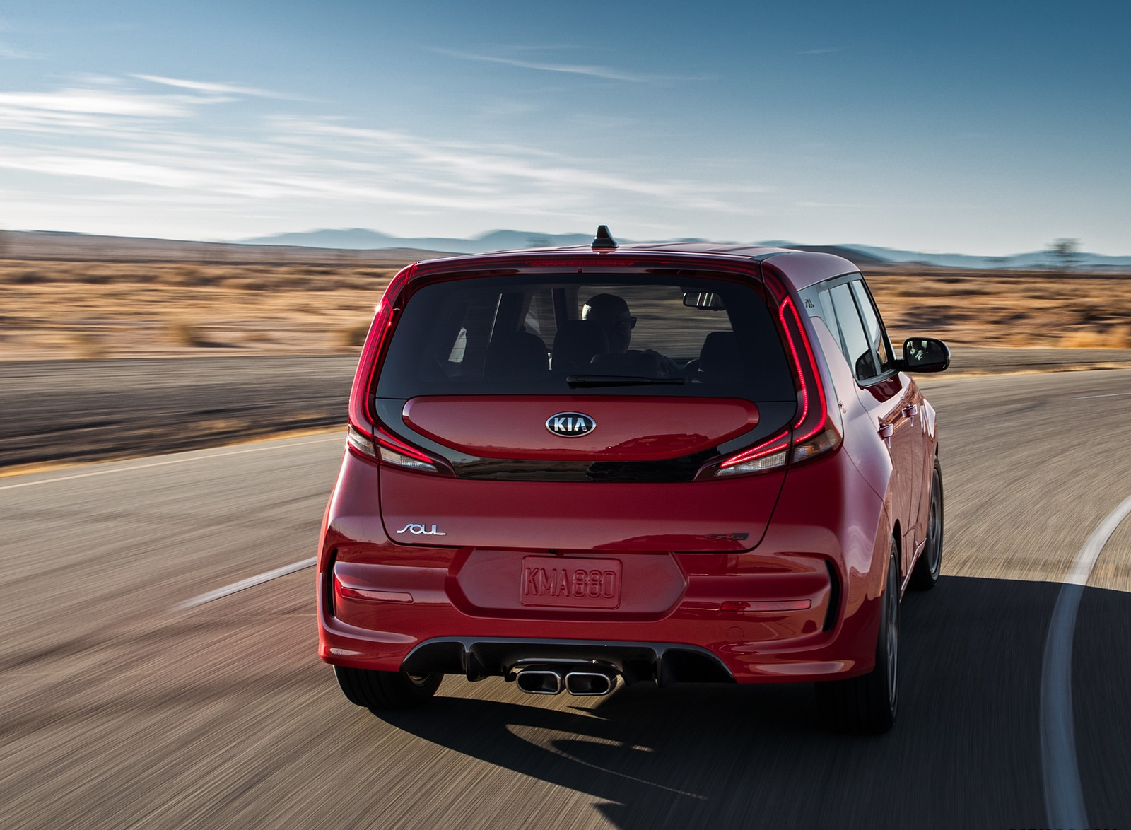 2020 Kia Soul GT-Line Rear Wallpapers (7)