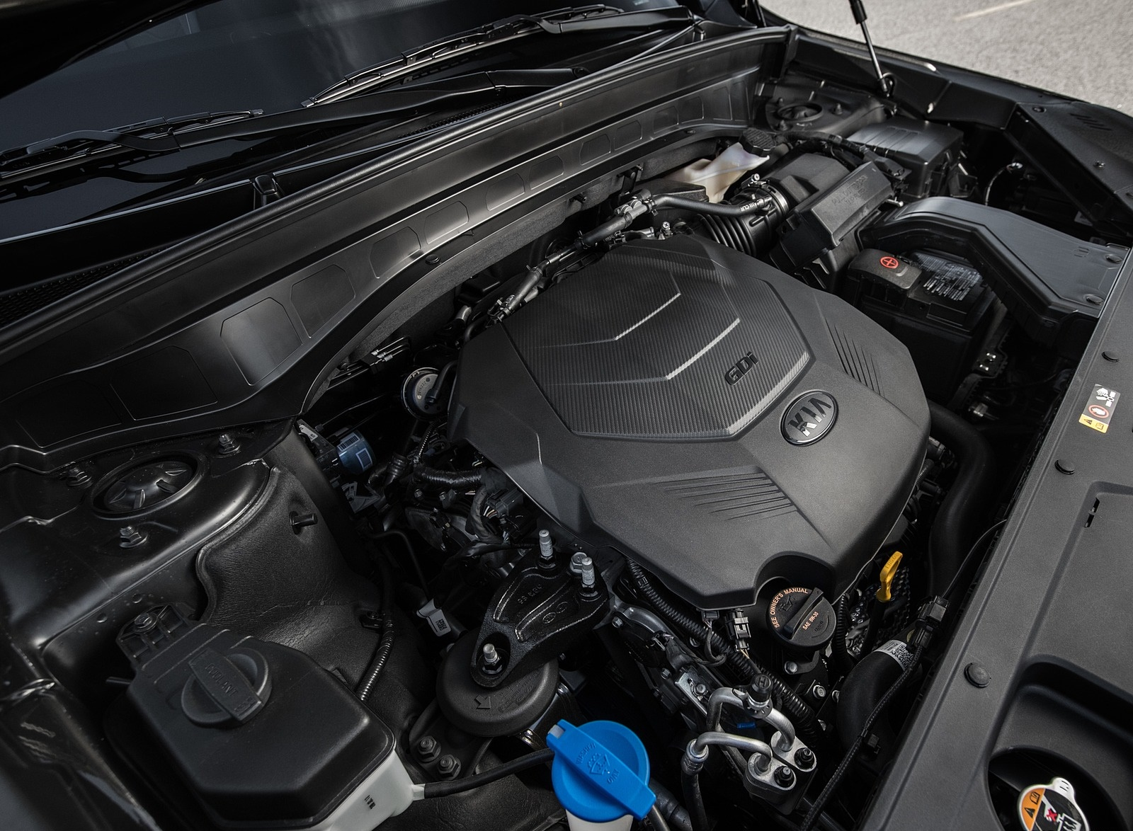 2020 Kia Telluride Engine Wallpaper (9)