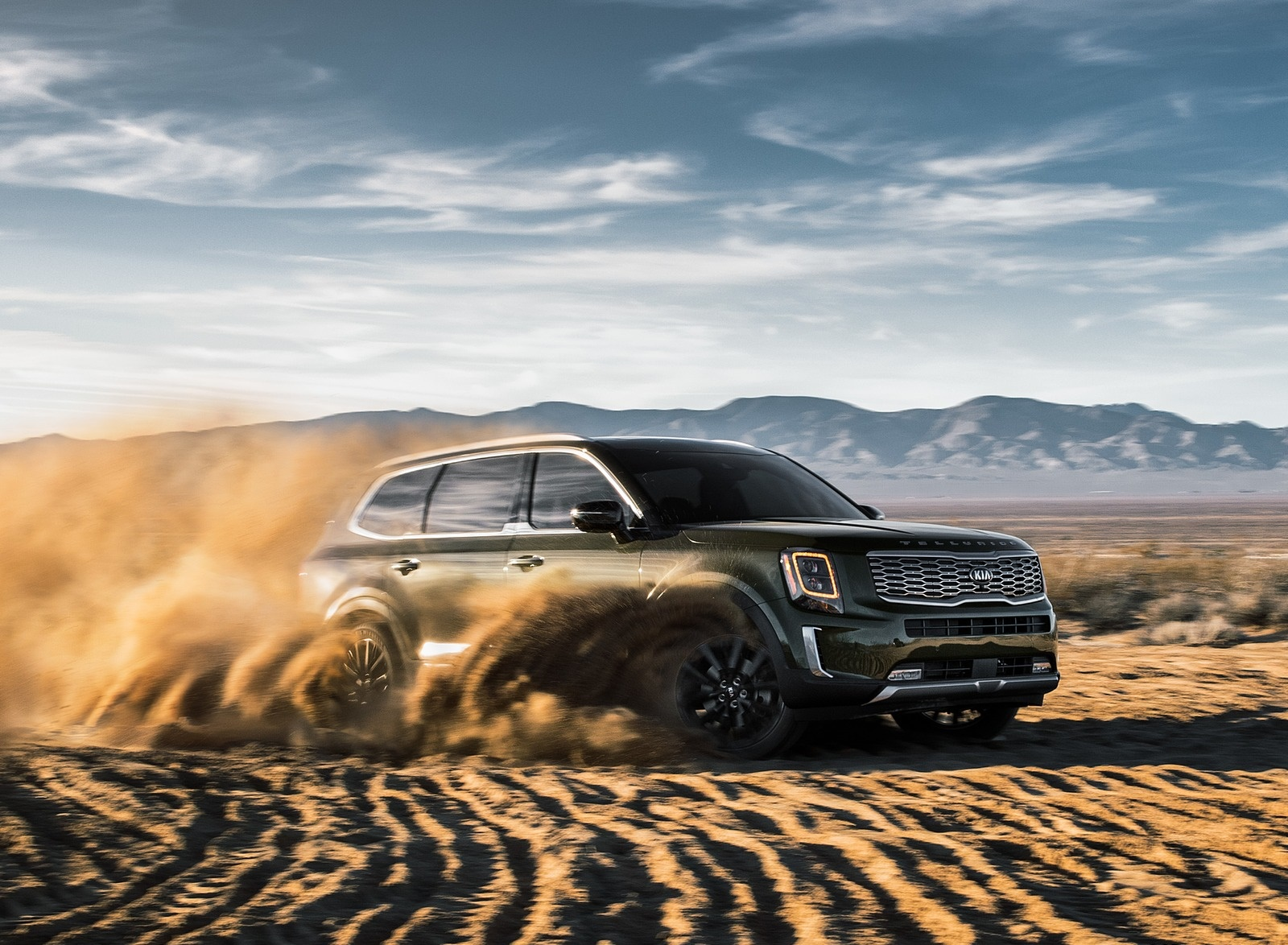 2020 Kia Telluride Front Three-Quarter Wallpapers (10)