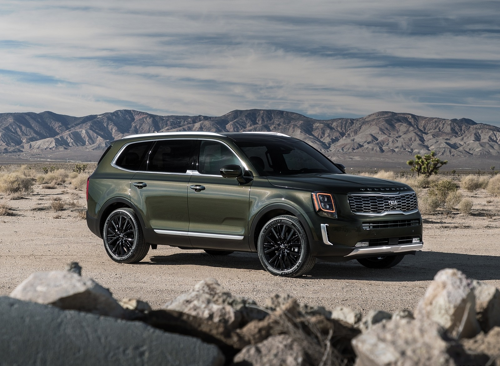2020 Kia Telluride Front Three-Quarter Wallpapers (5)