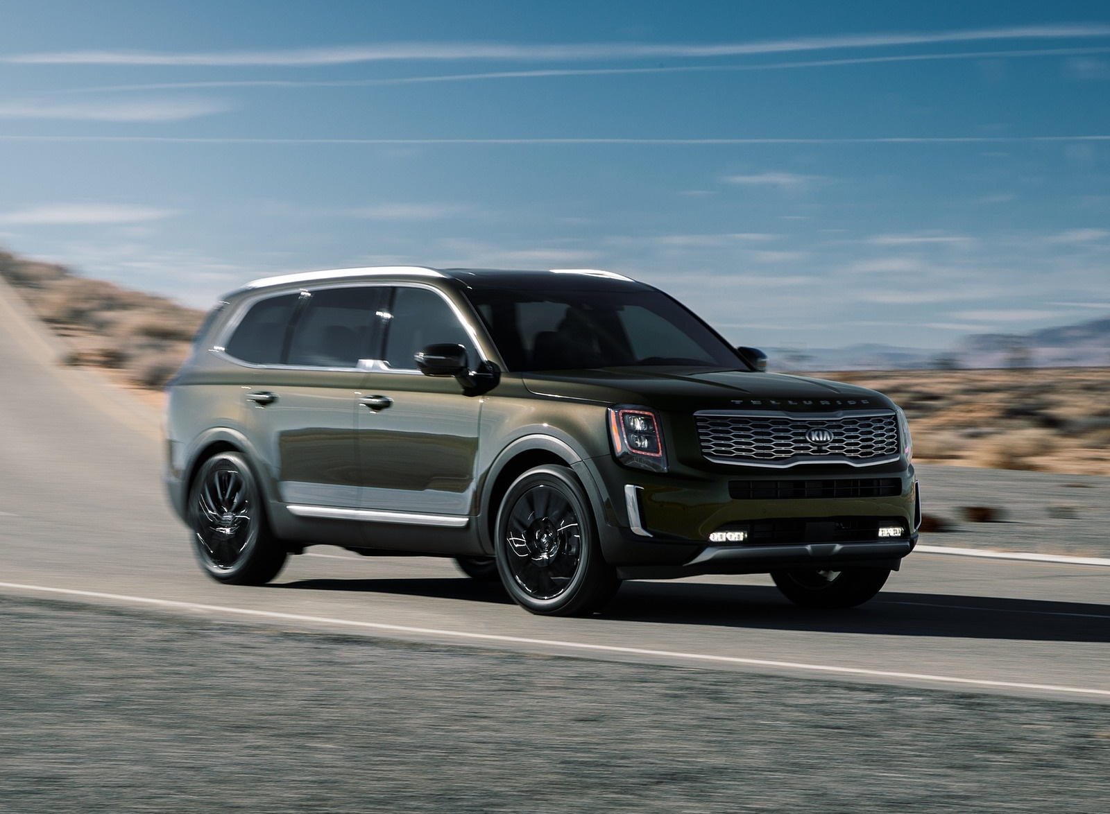 2020 Kia Telluride Front Three-Quarter Wallpapers (2)