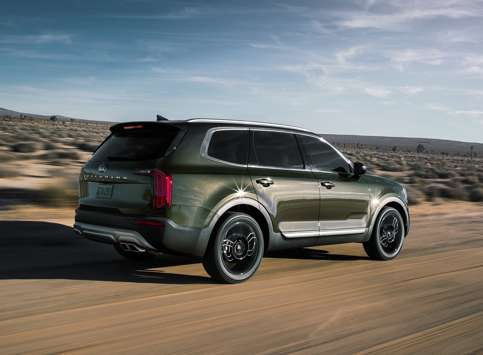 2020 Kia Telluride Rear Three-Quarter Wallpapers (4)