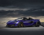 2020 McLaren 600LT Spider (Color: Lantana Purple) Front Three-Quarter Wallpaper 150x120 (17)