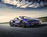 2020 McLaren 600LT Spider (Color: Lantana Purple) Front Three-Quarter Wallpaper 150x120 (2)