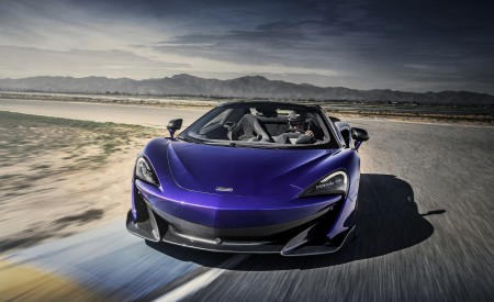 2020 McLaren 600LT Spider Wallpapers HD