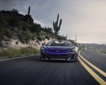 2020 McLaren 600LT Spider (Color: Lantana Purple) Front Wallpaper 150x120 (5)