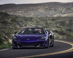 2020 McLaren 600LT Spider (Color: Lantana Purple) Front Wallpaper 150x120 (13)