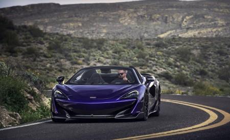 2020 McLaren 600LT Spider (Color: Lantana Purple) Front Wallpaper 450x275 (13)