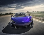 2020 McLaren 600LT Spider (Color: Lantana Purple) Front Wallpaper 150x120 (6)