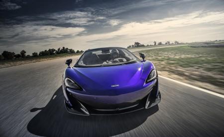 2020 McLaren 600LT Spider (Color: Lantana Purple) Front Wallpaper 450x275 (6)