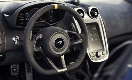 2020 McLaren 600LT Spider (Color: Lantana Purple) Interior Steering Wheel Wallpaper 450x275 (24)