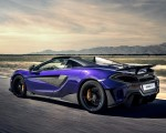 2020 McLaren 600LT Spider (Color: Lantana Purple) Rear Three-Quarter Wallpaper 150x120 (8)
