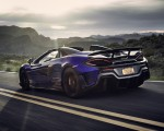 2020 McLaren 600LT Spider (Color: Lantana Purple) Rear Three-Quarter Wallpaper 150x120 (9)