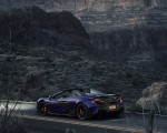 2020 McLaren 600LT Spider (Color: Lantana Purple) Rear Wallpaper 150x120 (15)
