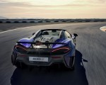 2020 McLaren 600LT Spider (Color: Lantana Purple) Rear Wallpaper 150x120 (10)