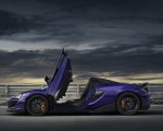 2020 McLaren 600LT Spider (Color: Lantana Purple) Side Wallpaper 150x120 (23)